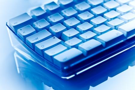Keyboard blue