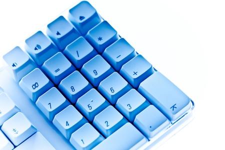 numpad: Numpad blue keyboard