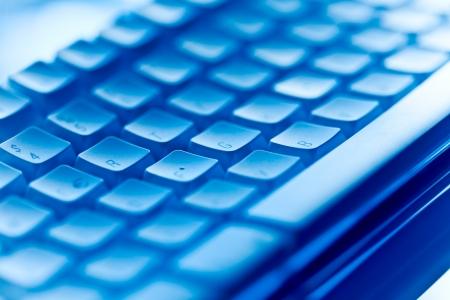 клавиатура: Синий компьютерной клавиатуры