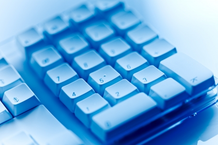 teclado numérico: Teclado numérico Foto de archivo
