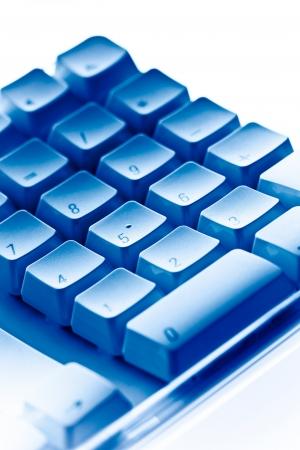 Teclado de computadora teclado numérico Foto de archivo - 18197789