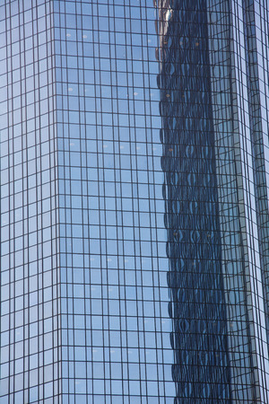 Office tower glass facade Stock Photo