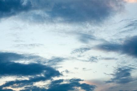 Menacing sky Stock Photo