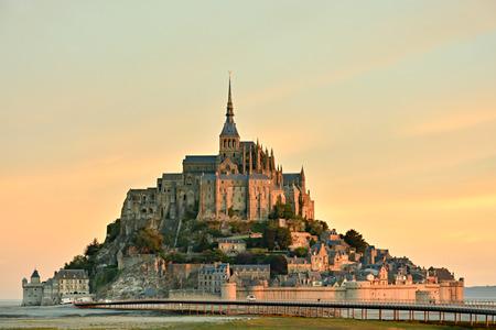 Le Mont Saint-Michel in Normandy, France