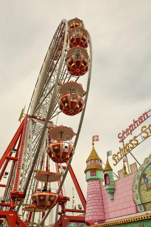 LUZERN, SWITZERLAND - SEPTEMBER 2017 - Amusement park in Luzern, Switzerland Editorial