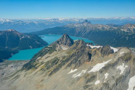 Coast mountains in British Columbia, Canada