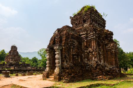 Ancient temple complex in My Son, Vietnam