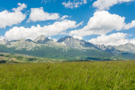 Smallest high mountains in the world - High Tatras in Slovakia