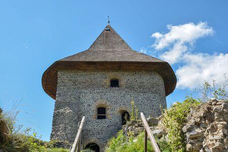 The main tower of Castle Somoska close to Filakovo city in southern Slovakia