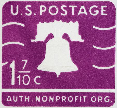 Vintage USA  postage stamp Stock Photo - 4147533