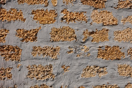 coquina: masonry stone yellow Crimean coquina with concrete texture