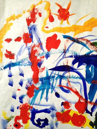 Abstract acrilic painting