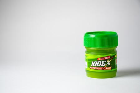 痛み緩和クリーム Iodex グリーン