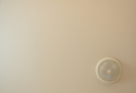 Ceiling background with light shade