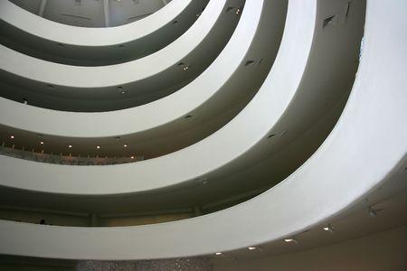 Descending Spiralen zu Guggenheim Museum, New York