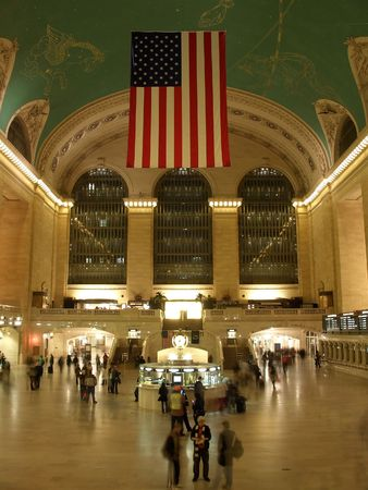 New York Grand Central Station main hall Stock Photo - 1327768