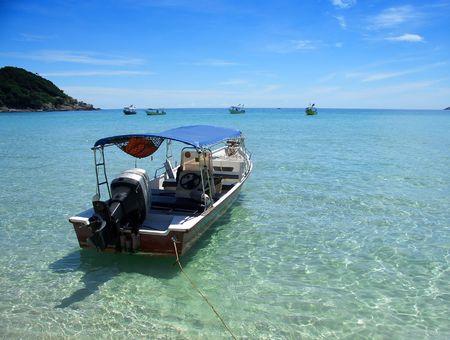sabah: Boat, Perhentian islands, Sabah, Malaysia
