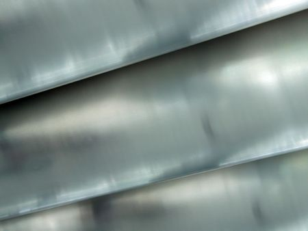 Abstract background with brushed metal pipes Stock Photo - 1335143