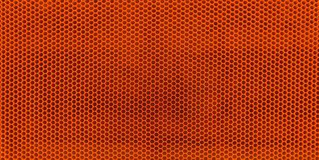 Abstract orange cylinders background, bee nest like Stock Photo - 1335195