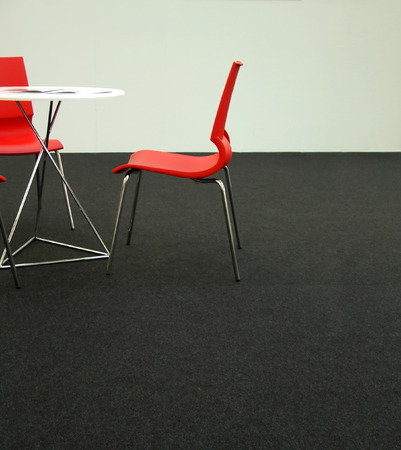 Design chairs and table in a business environment