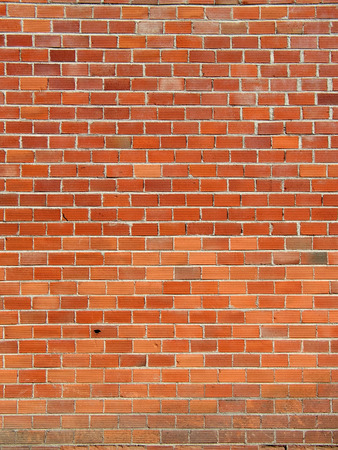 Red bricks wall background, vertical Stock Photo - 1374216