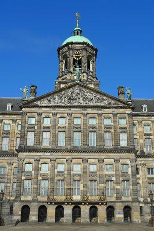 Amsterdam-Palast in Dam-Platz, Amsterdam, Niederlande