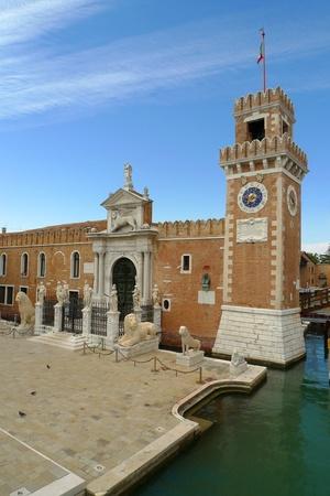arsenal: The main gate (Porta Magna) at the Venetian Arsenal