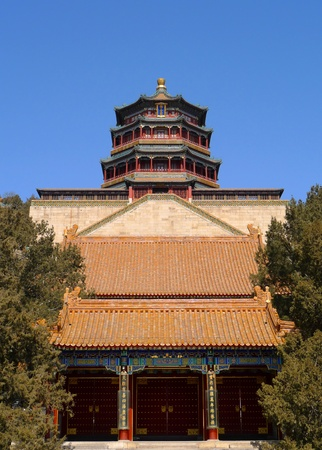 Haupttempel im Summer Palace, Beijing, China