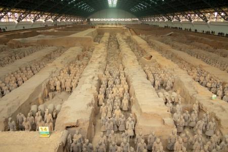 Qin dynasty Terracotta Army, Xi Stock Photo - 17003291