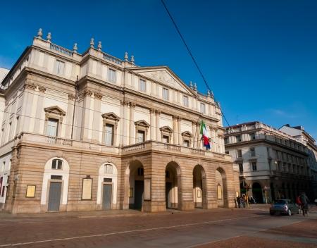 Teatro alla Scala Opera House, Milan, Italy Stock Photo - 18080371