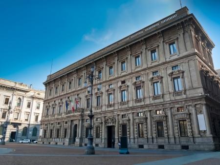 Palazzo Marino, Milan's city hall, Italy Stock Photo - 18080376
