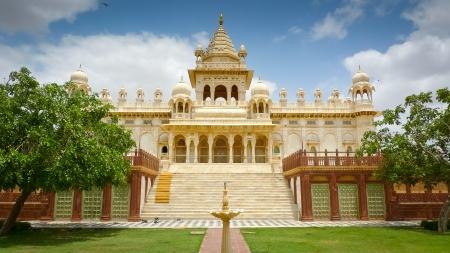 mausoleum: Jaswant Thada mausoleum, Mehrangarh, Jodhpur, Rajasthan, India Editorial