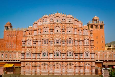Hawa Mahal Palast (Palast der Winde) in Jaipur, Rajasthan, Indien Editorial