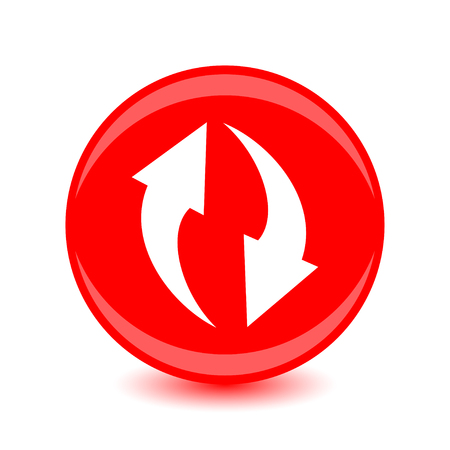 Vector illustration of circulation icon