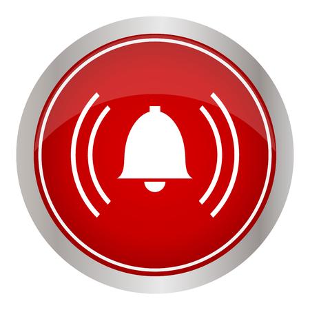 alarm pictogram vectorillustratie.