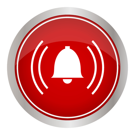 alarm icon vector illustration.