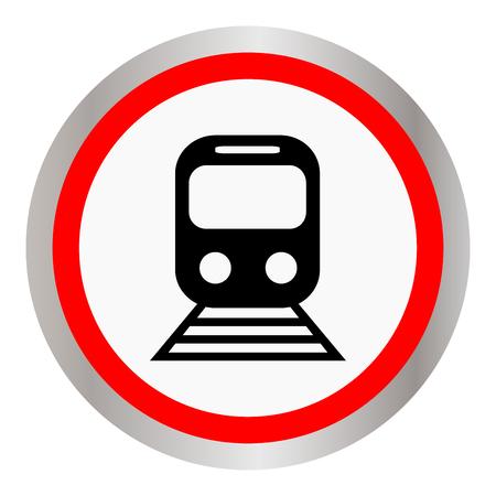 Train vector icon illustration. Illustration