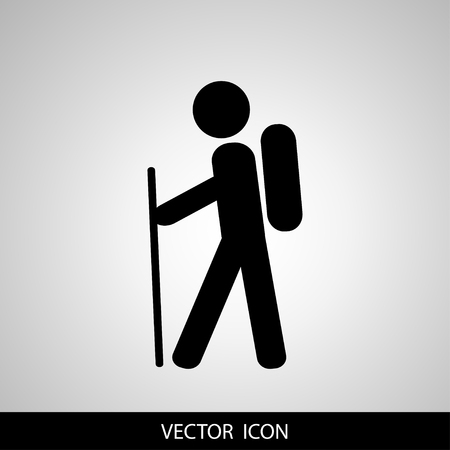 Travel, Tourist Icon. Vector illustration.