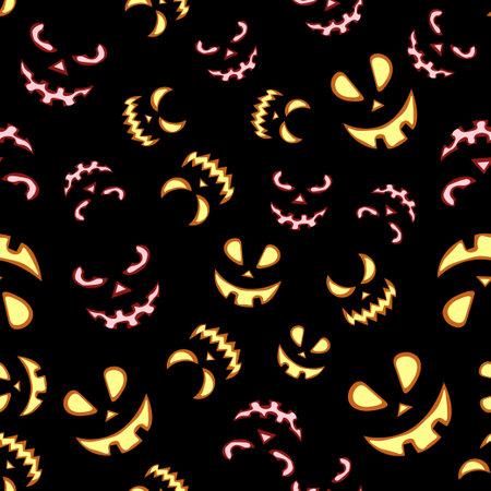 Seamless vector pattern for Halloween design. Vector Illustration