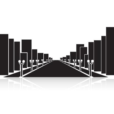 long term: panorama de la ciudad en el largo plazo.