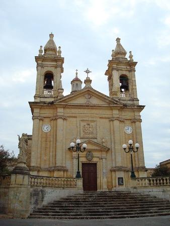 教区聖マーガレット教会、サーナ、ゴゾ島、マルタ、ヨーロッパ