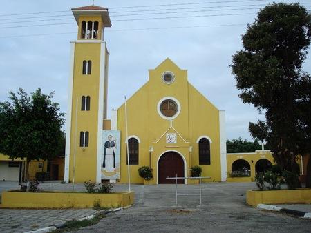サン ルイス ・ ベルトラン教会、リンコン、ボネール島、カリブ