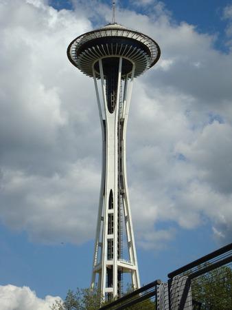 スペース針、シアトル センター、シアトル、ワシントン、アメリカ合衆国