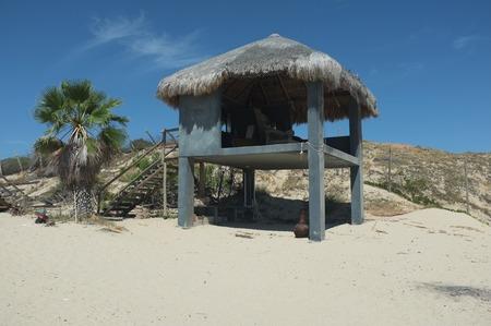 ビーチ、サン ホセ デル カボ, バハ カリフォルニア スル、メキシコのパラパ