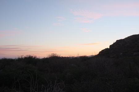夕日の丘、サン ホセ デル カボ, バハ カリフォルニア スル、メキシコ
