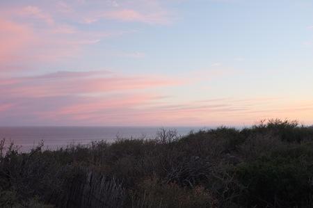海、サン ホセ デル カボ, バハ カリフォルニア スル、メキシコに沈む夕日