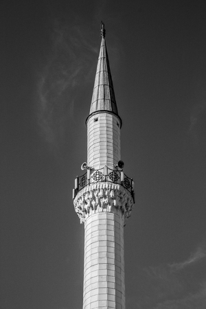 flare up: minaret Stock Photo