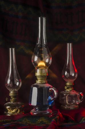 spunk: Old oil lamp