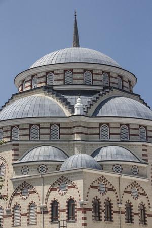 increased: Mosque dome minaret Stock Photo