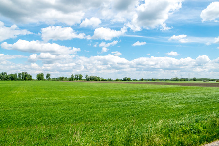 Countryside view Stock Photo